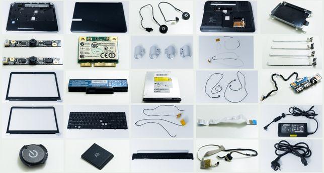 Duży zestaw części Packard Bell TJ75 - Bateria / Nagrywarka i inne