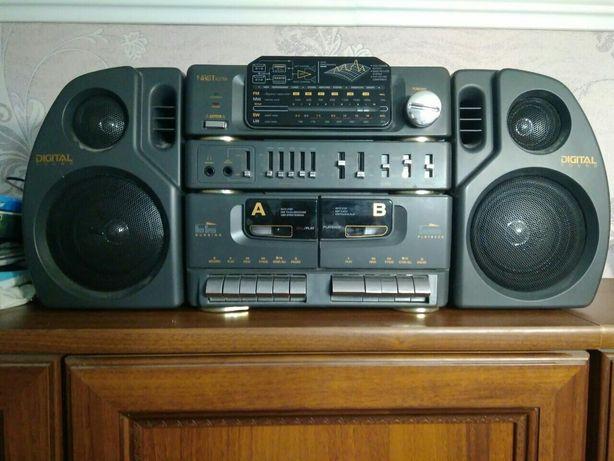Музыкальный центр на кассетах