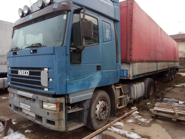 Продам седельный тягач IVECO 440 Е 42 98 г.в +.прицеп Schmitz 93 г.в