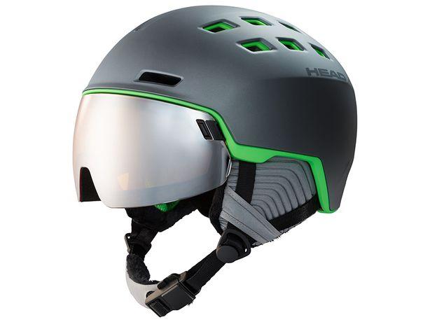 Горнолыжный шлем head radar grey/green 2020 m-l