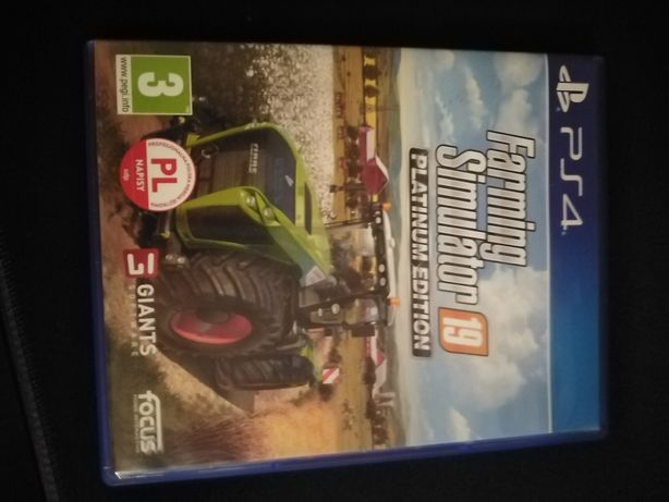 Farming simulator 19 playtnowa edycjia na ps4