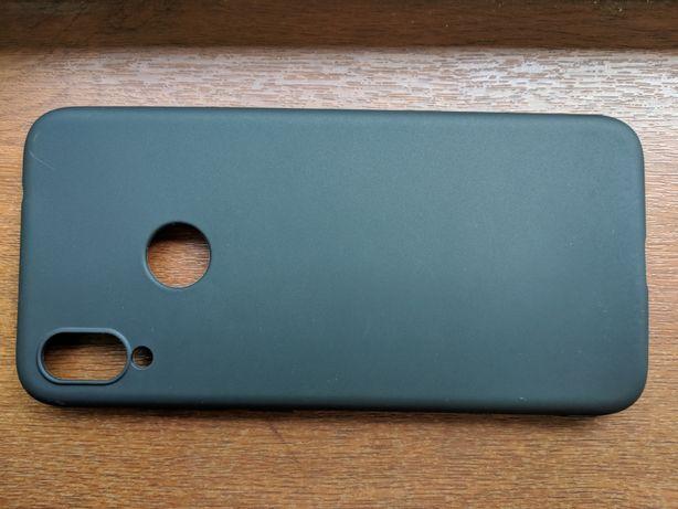 Новый Xiaomi readmi note 7 чехол черный матовый