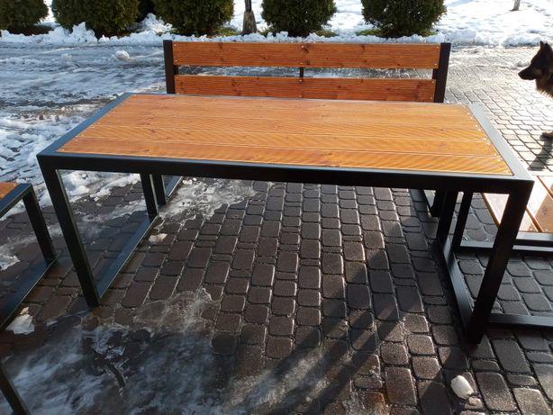 Stół ogrodowy dowóz (tarasowy 180x80, ławki, krzesła, meble ogrodowe )
