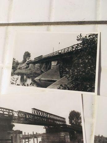 Stare zdjęcia budowy mostu w Warszawie