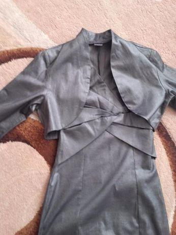 Sukienka ołówkowa + bolerko NOR-BI r. 36