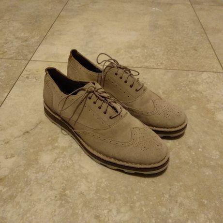 Buty zamszowe Clarks 44,5