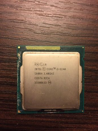 i3 Intel 3240. 3.4 Ghz.