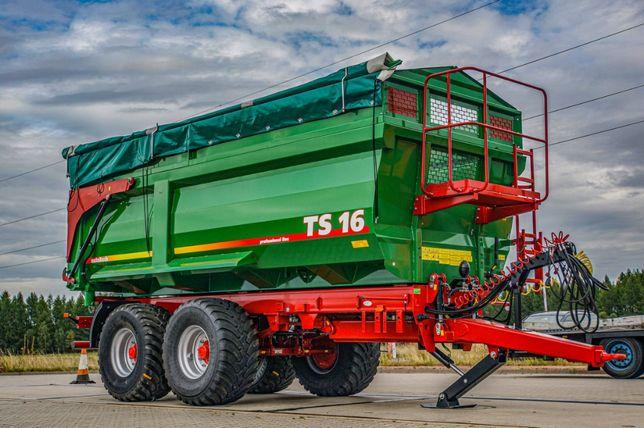 Przyczepa rolnicza skorupowa METAL-TECH TS 16, 18 Ton | PROMOCJA