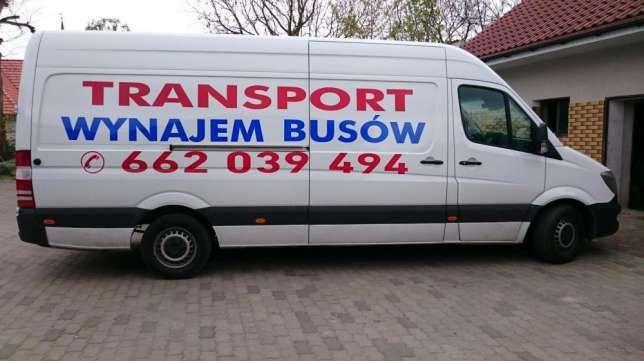 Wynajem busów dostawczych i 8-osobowych. GORZÓW