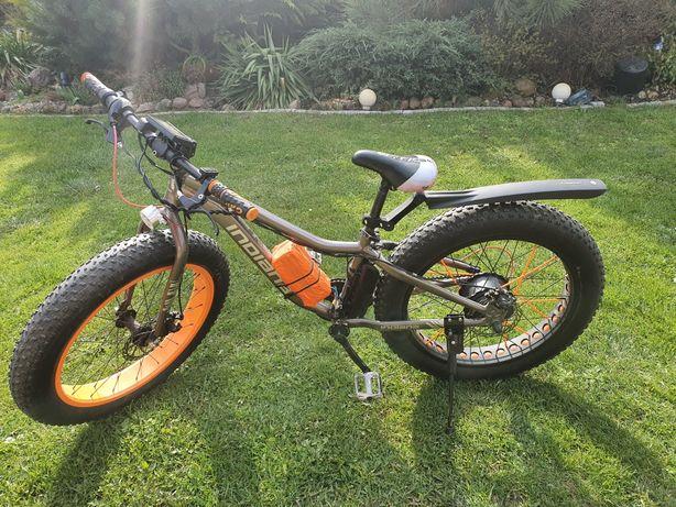 Rower elektryczny fat bike 24 cale