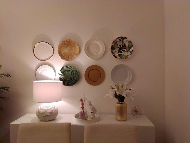 Prato parede /centro mesa