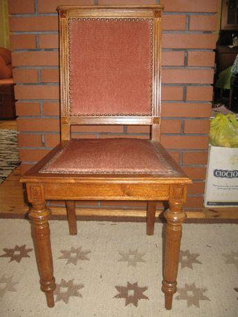 krzesło stylowe - dębowe solidne