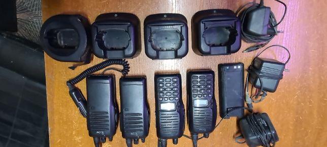 Продам комплект радиостанция icom kenwood