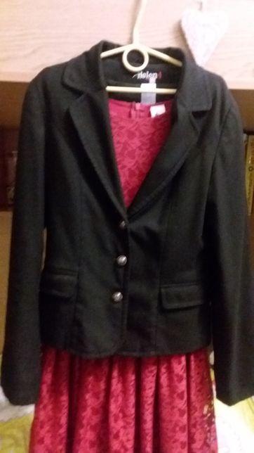 Школьный пиджак для девочки 146 р
