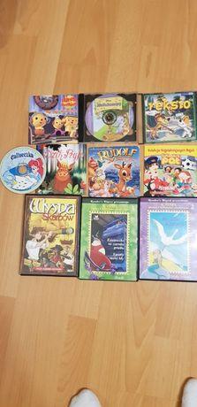 Zestaw bajek CD dla dzieci 10 sztuk: Brzydkie kaczątko, Hefalumpy