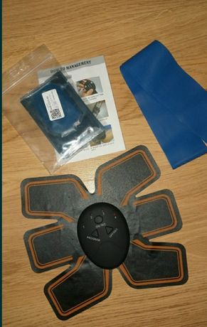 Миостимулятор и резинка для фитнеса в подарок