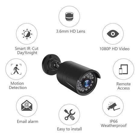 Câmera de Vigilância AHD