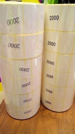 Термоэтикетка для ценников 40*25