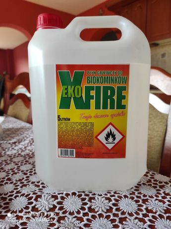 Biopaliwo 5 litrów Ekoxfire - bioetanol do biokominków. Promocja