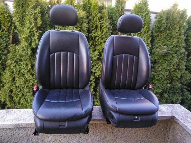 Fotele Mercedes CLS Europa stan bdb 2szt