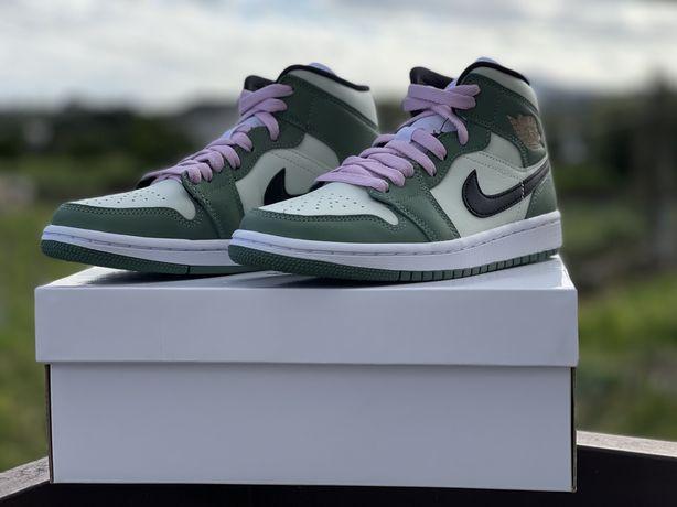 Nike Jordan Mid 1 Dutch Green EU36.5