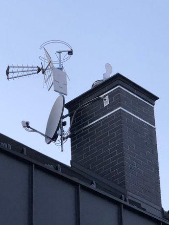 ustawianie i montaż anten kraków wieliczka canal+ i inne