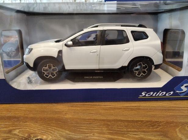Dacia Duster Mk2 - 2018 Solido skala 1:18