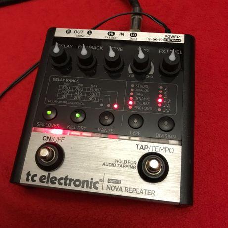Очень функциональный дилей примочка педаль эффектов TC Electronics