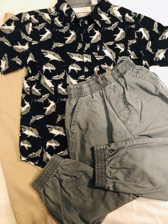 Набор рубашка и две пары штанов 4Т