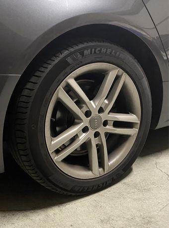 Jantes Audi 18 com pneus novos