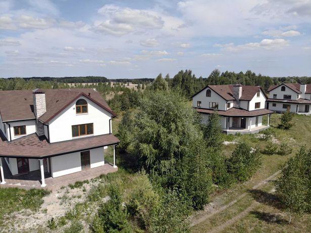 Продажа коттеджного городка 4 дома 1 гектар земли под Киевом Без %