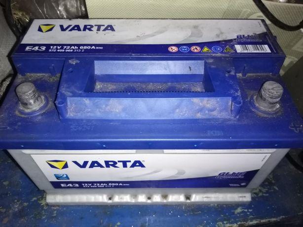 Акумулятор 72 Ah VARTA