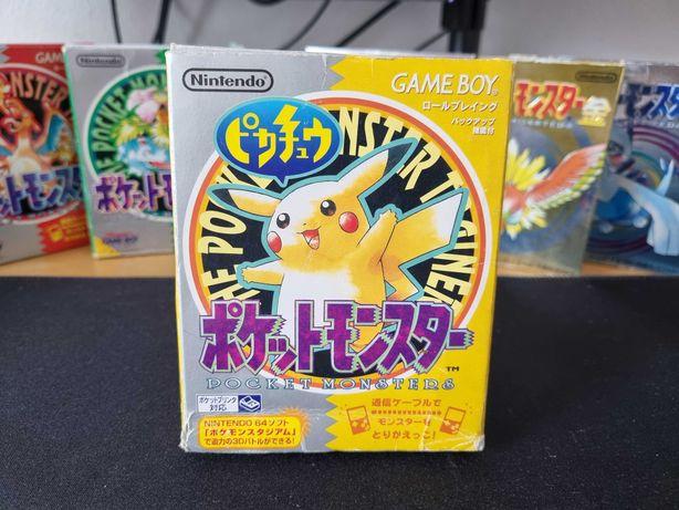 Pokémon Yellow (JPN) - Game Boy / Color / Advance