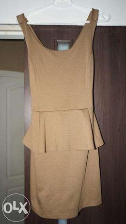 Продам новое платье с баской р. М-L