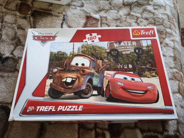 Puzzle Trefl Cars 180 elementów 5+jak nowe.
