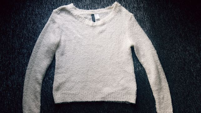 Sweterek H&M roz XS