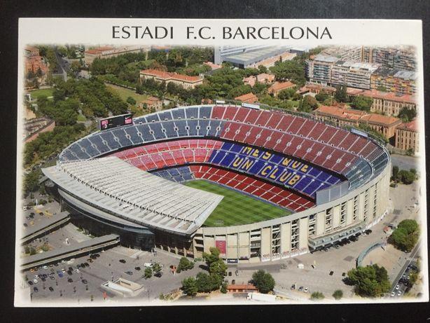 Pocztówka Camp Nou