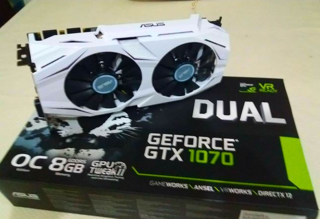 Placa Grafica Asus Dual GeForce GTX 1070 OC 8GB