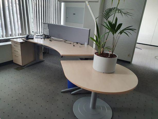 Biurko z Elektryczną Regulacją Wysokości 62 - 135 Plus Lampa WYSYŁKA