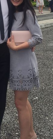 Szara sukienka rozm M