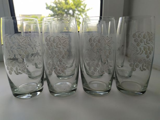 Стаканы стеклянные по 15 грн