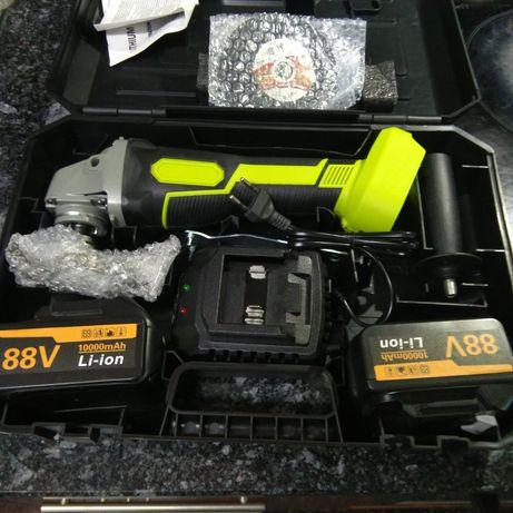 Rebarbadeira c/2  baterias e mala