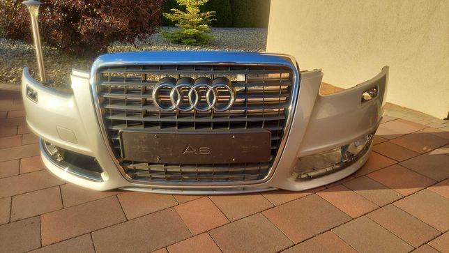 Zderzak przód z grillem Audi  A6C6.