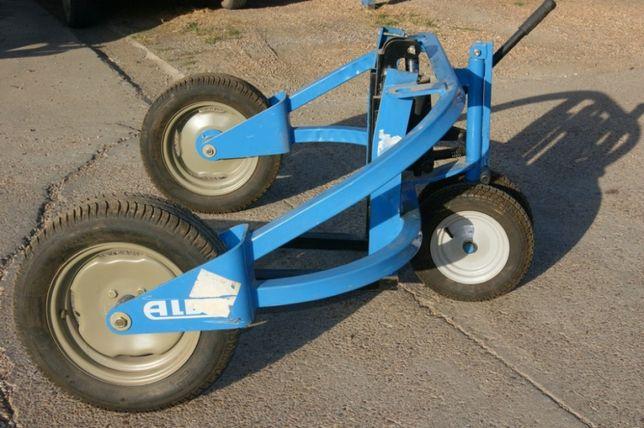 Paleciak wózek paletowy terenowy do kostki brukowej 1500 kg