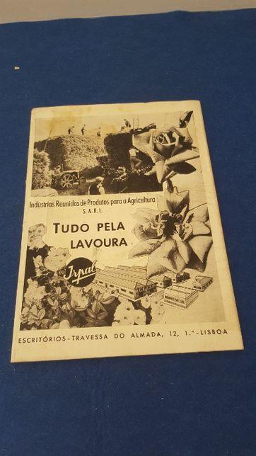 Revista sobre agricultura oferecida pela irpal do ano de 1945