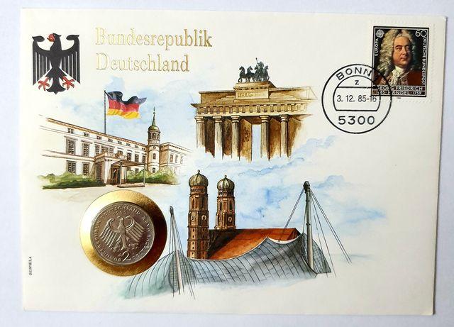 RFN list numizmatyczny z monetą