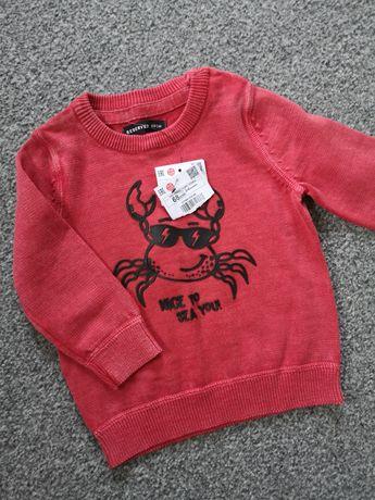 Nowy sweterek Reserved rozmiar 68