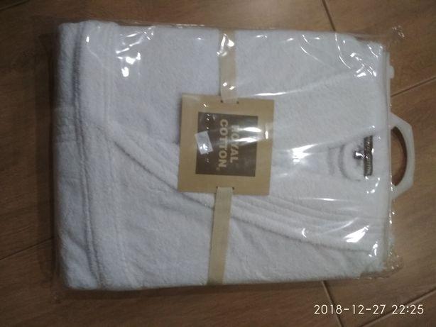 Roupão algodão branco
