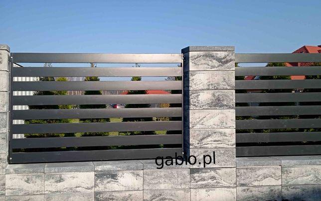 Przęsło, przęsła ogrodzeniowe palisadowe