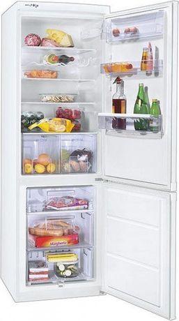 Двухкамерный холодильник ZANUSSI  нижняя морозилка.